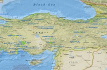 National_Parks_Of_Turkey_Map