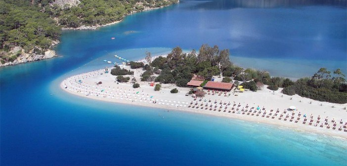 Oludeniz - A Beautiful Island Bay in Turkey 1