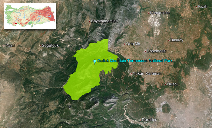 Gulluk_Mountain_Termessos_National_Park_Map