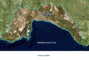 Antalya_satellite_map