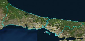 The_districts_of_Istanbul_map
